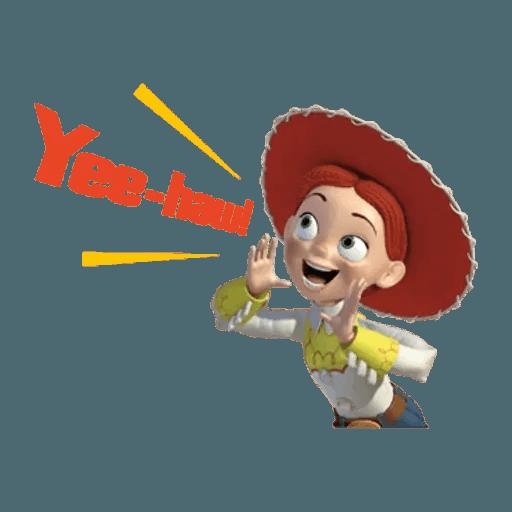 Toy Story - Tray Sticker