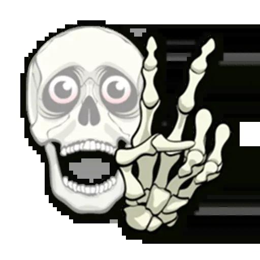 Skull - Sticker 20