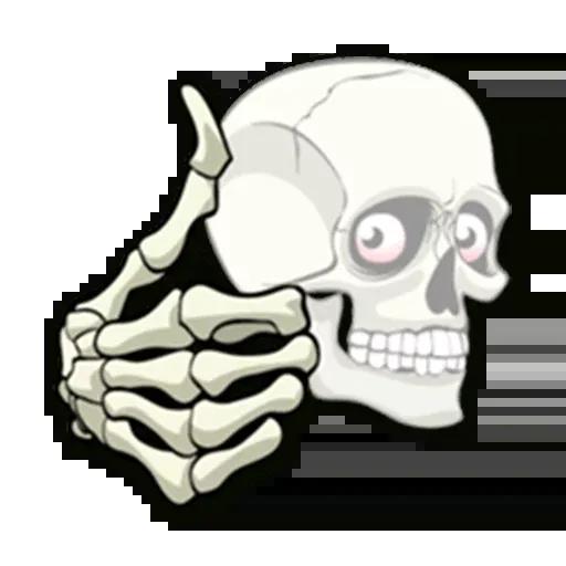 Skull - Sticker 21