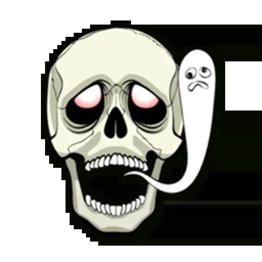 Skull - Sticker 16