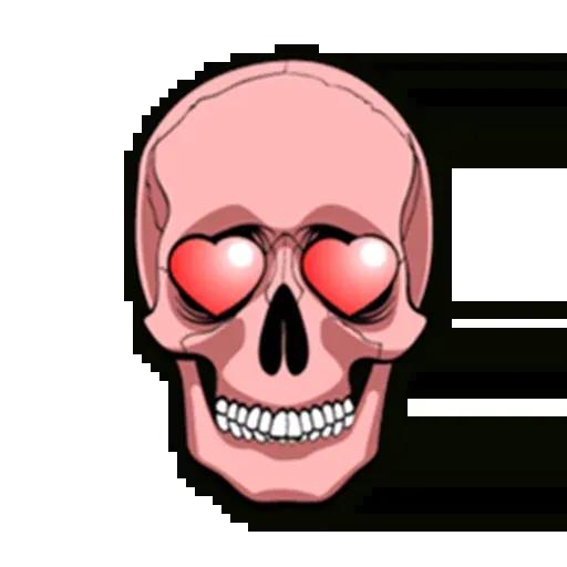 Skull - Sticker 6