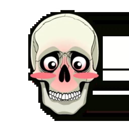Skull - Sticker 13