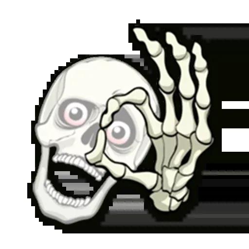 Skull - Sticker 19