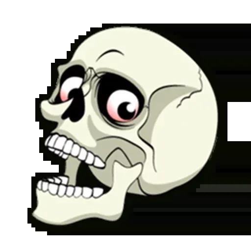 Skull - Sticker 23