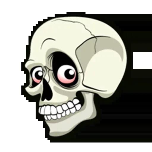 Skull - Sticker 26