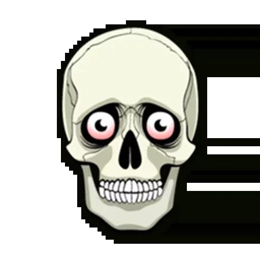 Skull - Sticker 5