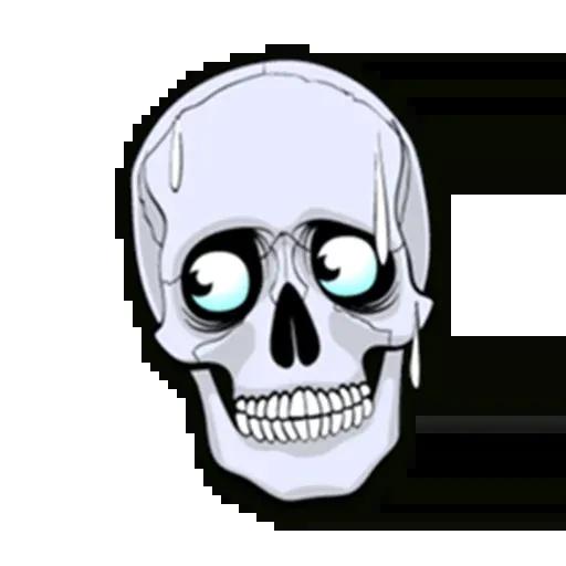 Skull - Sticker 9