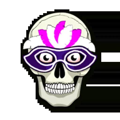 Skull - Sticker 18