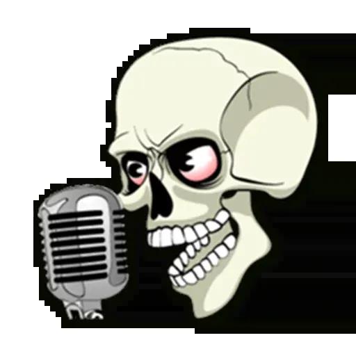 Skull - Sticker 22