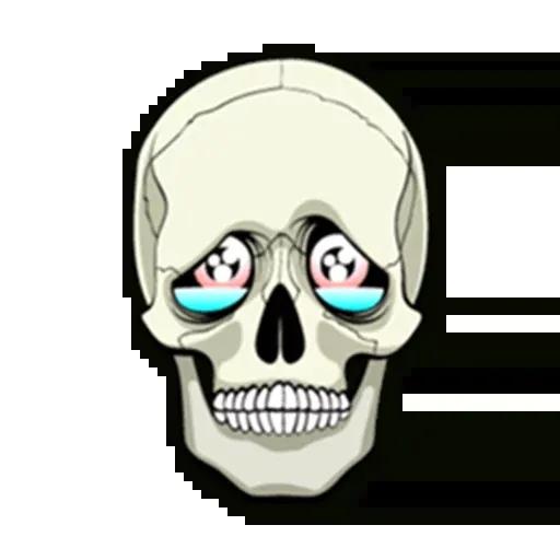 Skull - Sticker 10