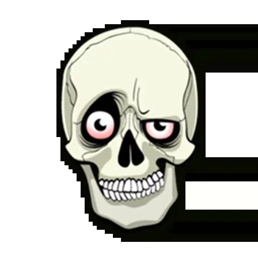 Skull - Sticker 3
