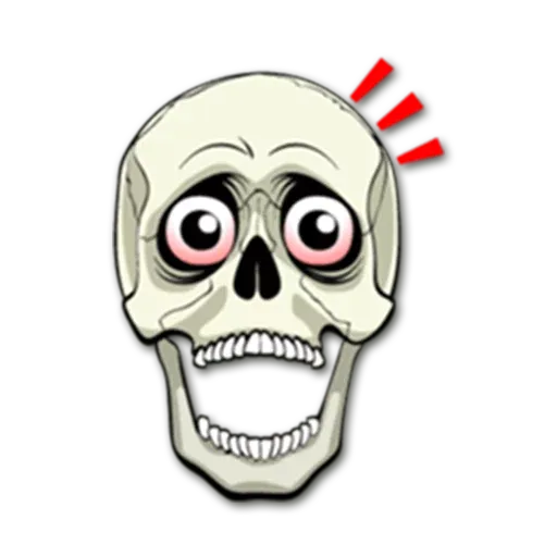 Skull - Sticker 27