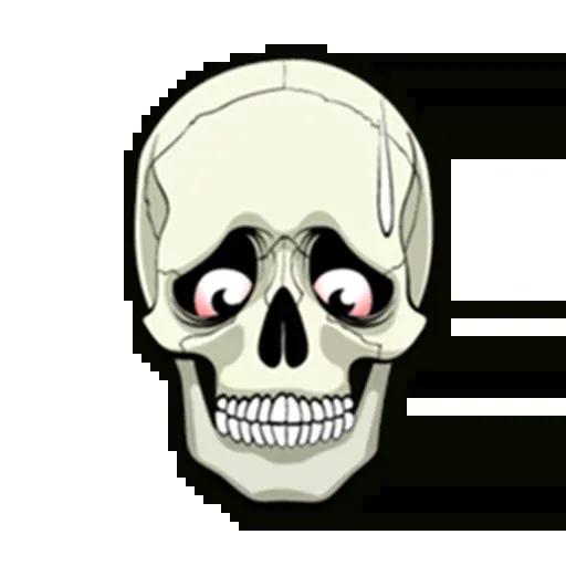 Skull - Sticker 7