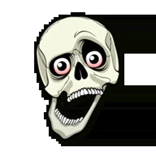 Skull - Sticker 12