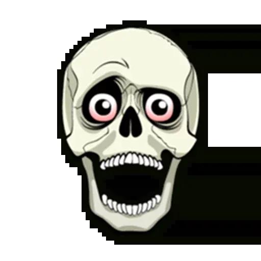 Skull - Sticker 4