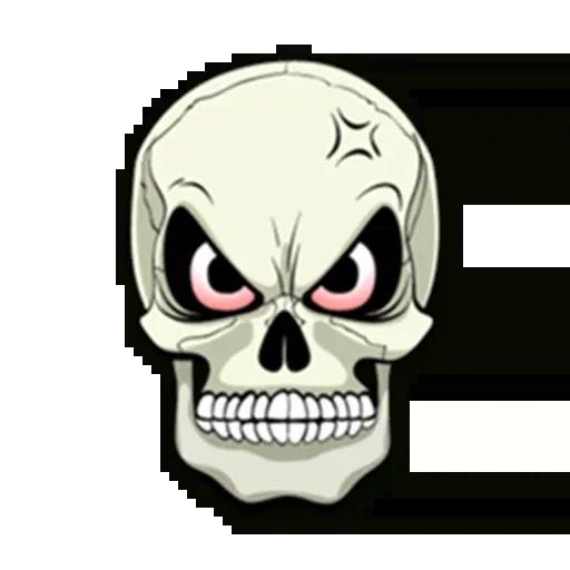 Skull - Sticker 8
