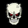 Skull - Tray Sticker