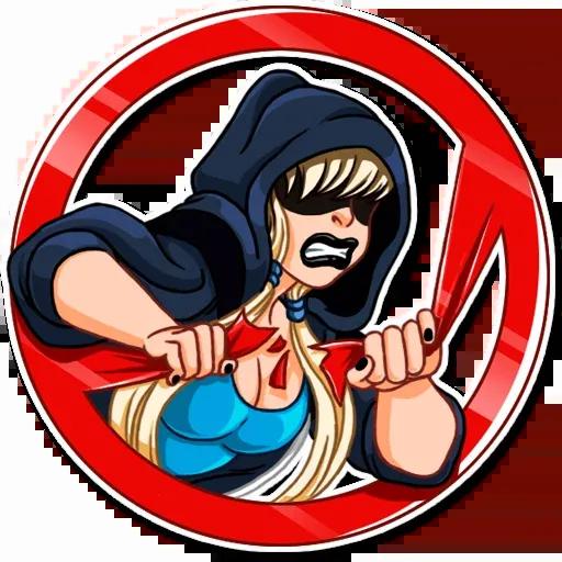 Resistance girl - Sticker 10