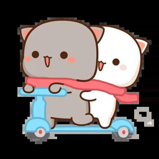 ? Cat - Gatos - Sticker 13