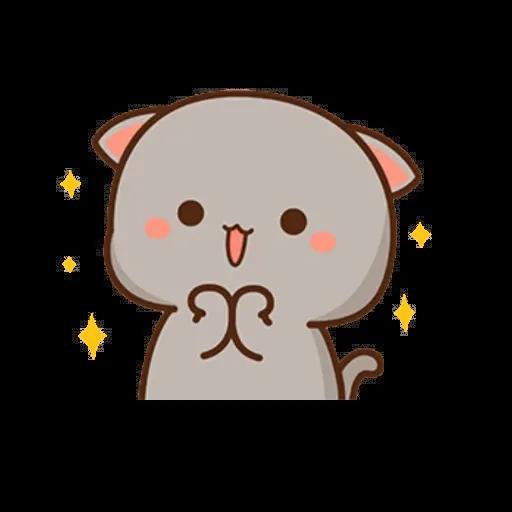 ? Cat - Gatos - Tray Sticker