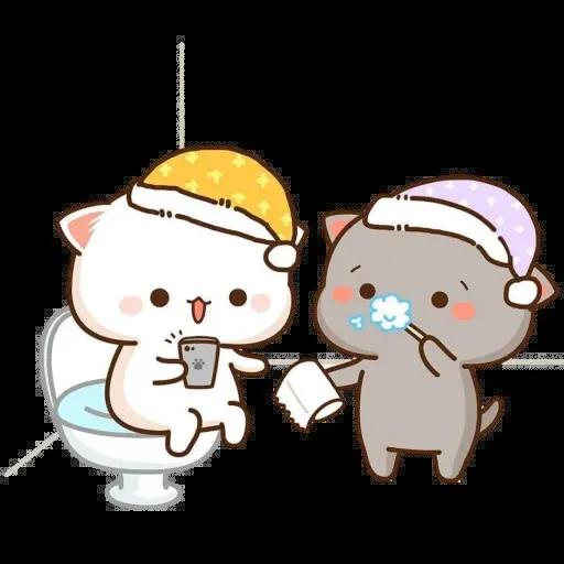 🐱 Cat - Gatos - Sticker 17