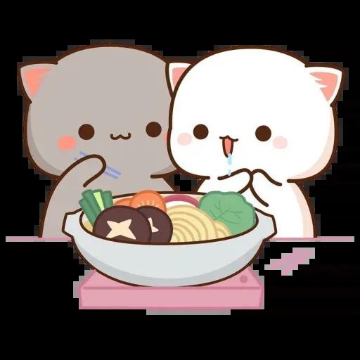 🐱 Cat - Gatos - Sticker 16