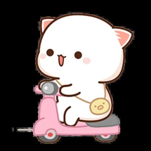 ? Cat - Gatos - Sticker 7