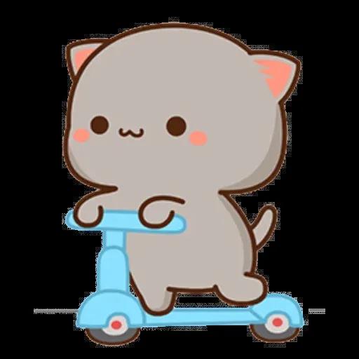 ? Cat - Gatos - Sticker 6