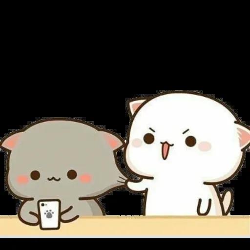 🐱 Cat - Gatos - Sticker 18