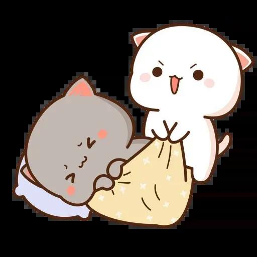 ? Cat - Gatos - Sticker 12