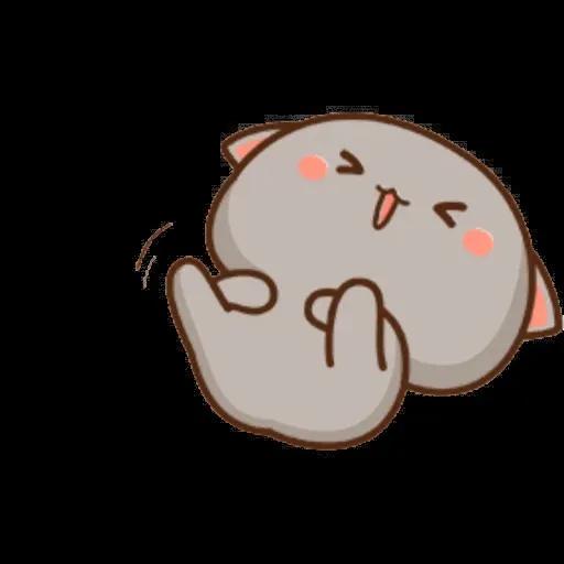 ? Cat - Gatos - Sticker 21