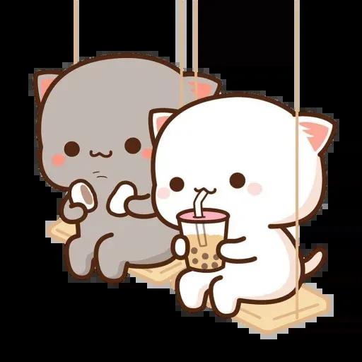 🐱 Cat - Gatos - Sticker 15