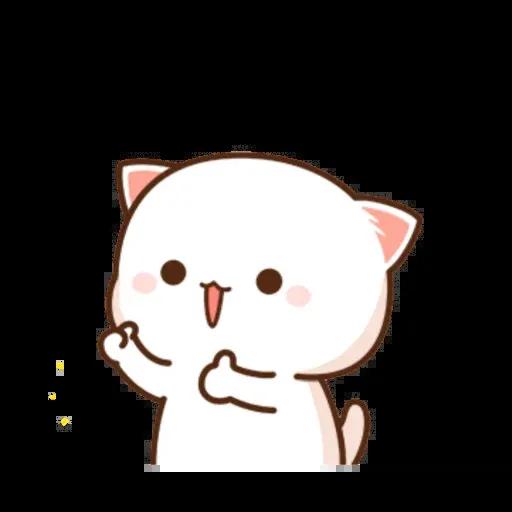 🐱 Cat - Gatos - Sticker 22