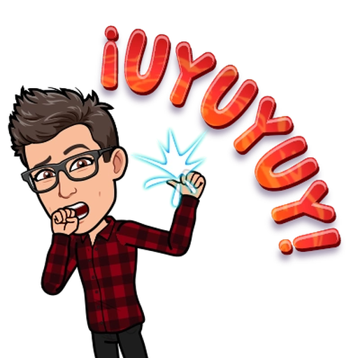 BitMoji 3 - Sticker 19