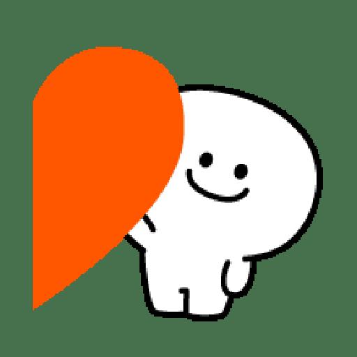 Rabbit Smile Emoji - Sticker 13