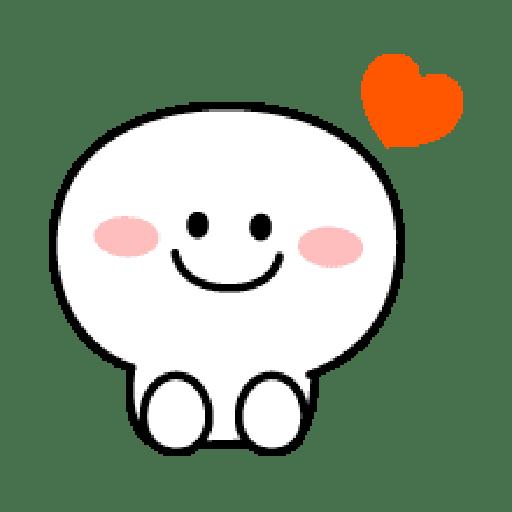 Rabbit Smile Emoji - Sticker 8