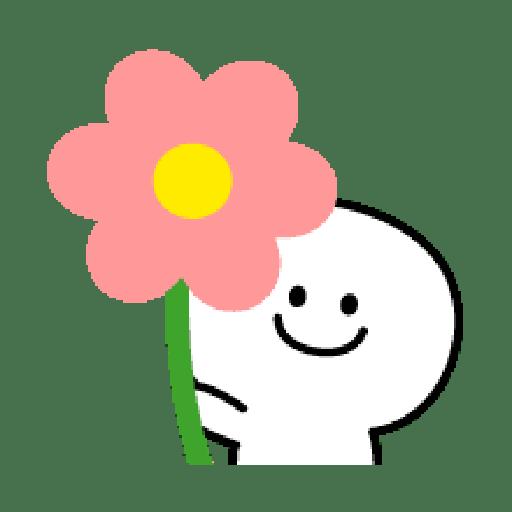 Rabbit Smile Emoji - Sticker 29