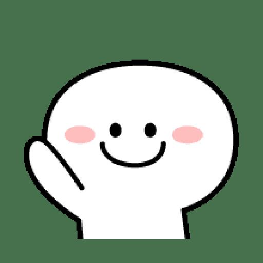Rabbit Smile Emoji - Sticker 2