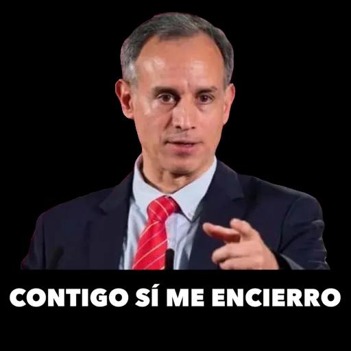 López-Gatell - Sticker 7