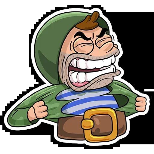 Commando - Sticker 10