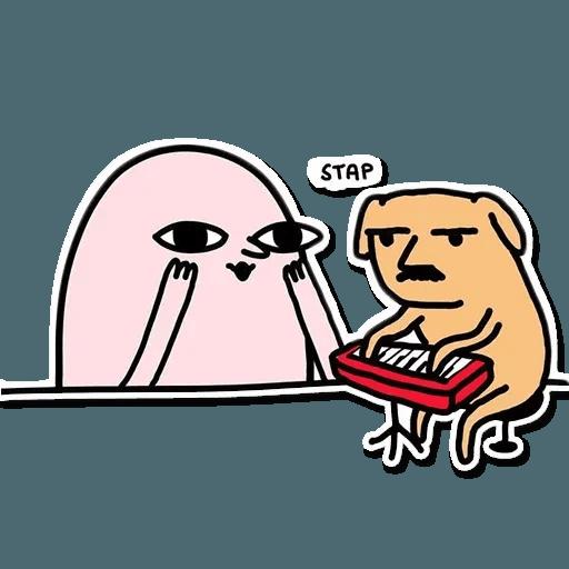 Weird - Sticker 22
