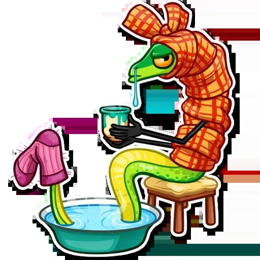 Sneaky Snake - Sticker 14