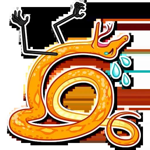 Sneaky Snake - Sticker 10