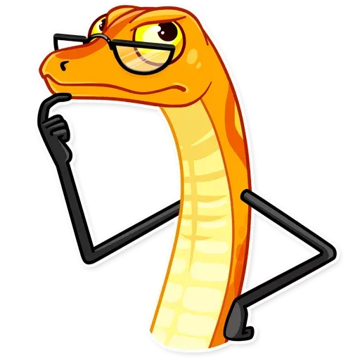 Sneaky Snake - Sticker 20