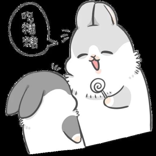 ㄇㄚˊ幾兔6 Thanks, 加油 - Sticker 8