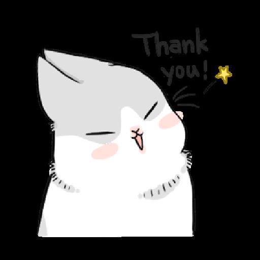 ㄇㄚˊ幾兔6 Thanks, 加油 - Sticker 19