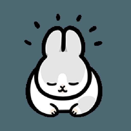 ㄇㄚˊ幾兔6 Thanks, 加油 - Sticker 14