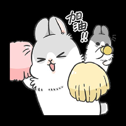ㄇㄚˊ幾兔6 Thanks, 加油 - Sticker 3