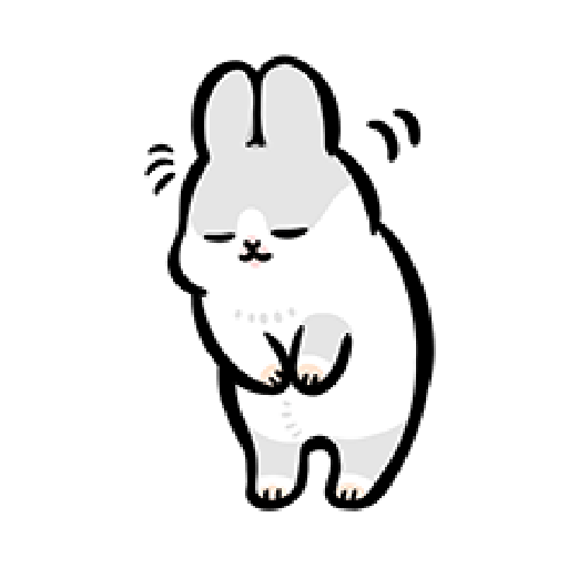 ㄇㄚˊ幾兔6 Thanks, 加油 - Sticker 16