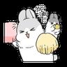 ㄇㄚˊ幾兔6 Thanks, 加油 - Tray Sticker